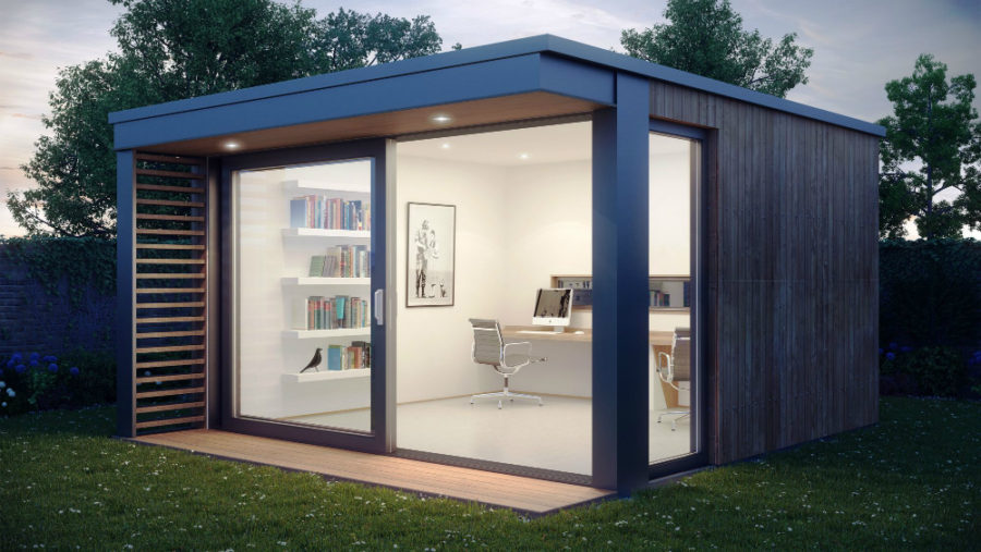 Modern office shed
