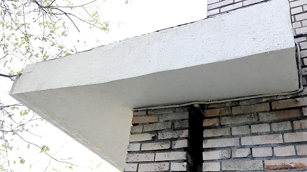 Навесы из бетона фибробетона пропорции