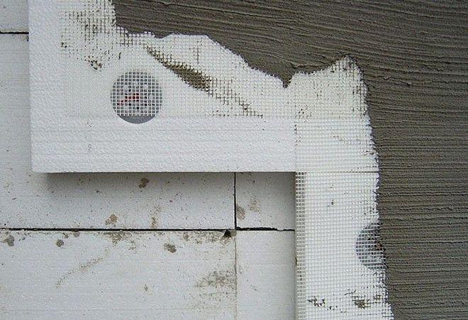 Можно ли штукатурить цементным раствором пеноплекс бетон в хохольском