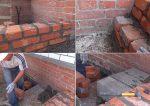 Крыльцо в частном доме из кирпича – пошаговая инструкция по строительству и декоративной отделке