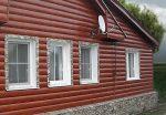 Блок хаус из металла – технология монтажа, размеры, виды, как крепить железные панели + фото домов обшитых металлосайдингом