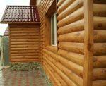 Профиль блок хаус – технология монтажа, размеры, виды, как крепить железные панели + фото домов обшитых металлосайдингом