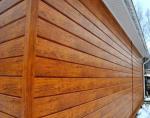 Фасадный сайдинг под дерево – Металлический сайдинг под дерево – виды, характеристики, монтаж!