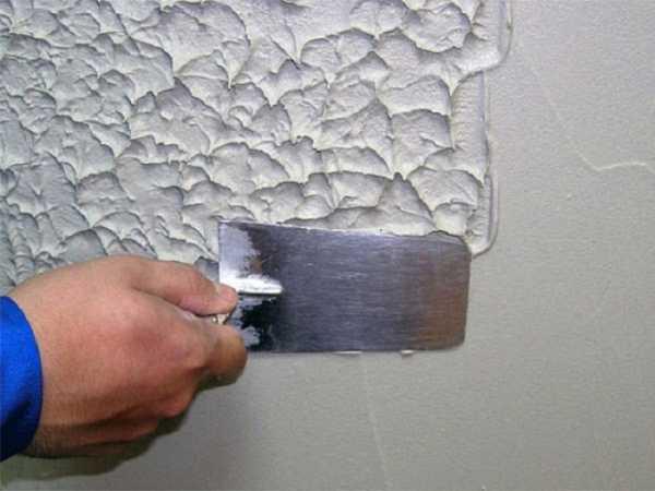 Что делать если декоративная штукатурка на стенах уже испорчена | 450x600