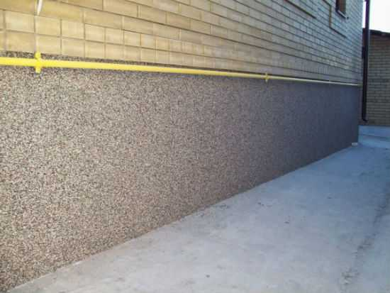 Цементный раствор для штукатурки фундамента композиты и бетон